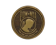 POW/MIA Bronze Grave Marker (Premium)