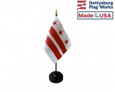 District Of Columbia (Washington D.C.) Stick Flag