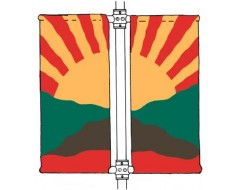 Double Avenue Banner Mounting Kit