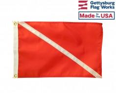 Diver Down Boat Flag - Scuba/Skin diver flag