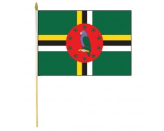 Dominica Stick Flag