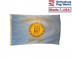 Rensselaer County Flag (Rensselaer County NY)