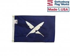 """12x18"""" Officer Boat Flag - Secretary"""