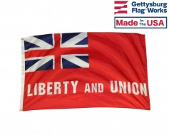 Taunton 'Liberty and Union' Flag