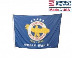 World War II Commemorative Flag