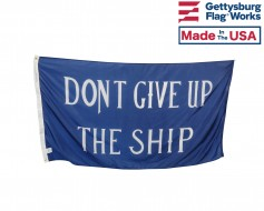 Commodore Perry 'Don't Give Up the Ship' Flag