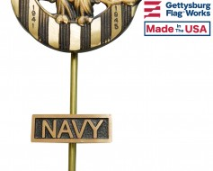 Navy Insignia Plaque for Grave Markers