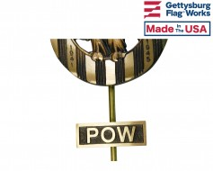 POW Service Insignia Plaque for Grave Markers