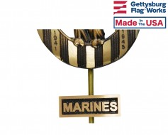 Marine Corps Insignia Plaque for Grave Markers