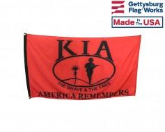 Killed In Action (KIA) Honors - America Remembers Flag -3x5'