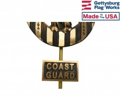Coast Guard Insignia Plaque for Grave Markers