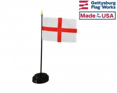 England Stick Flag (St. George Cross) - 4x6""