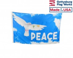 Peace Dove Flag - 3x5'