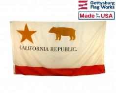 California Republic Historical Flag (The Bear Flag)