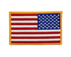 "American Flag Patch, 2x3"" Right"