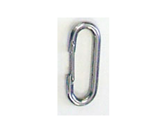 Stainless Steel Spring Clip 2.375""