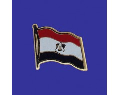 Egypt Lapel Pin (Single Waving Flag)