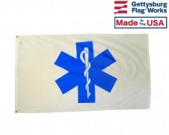 EMS Star Of Life Flag - 3x5'