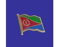 Eritrea Lapel Pin (Single Waving Flag)
