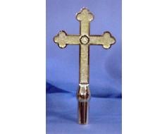 "Church Cross, 10"" Gold"