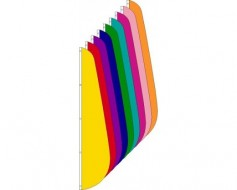 Blank Nylon Feather Flags - Choose Options