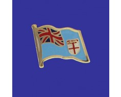 Fiji Lapel Pin (Single Waving Flag)