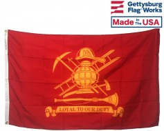 Firefighter (Loyal To Our Duty) Flag - 3x5'