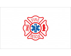 Fire Rescue Flag - 3x5'