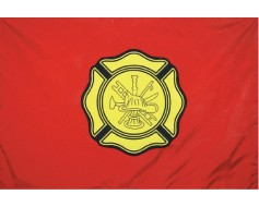 Fireman Department Flag - 3x5'