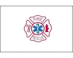 Fire Rescue Flag - 3x5'