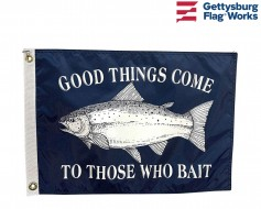 Good Things Come Boat Flag