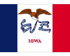 Iowa Flag - Outdoor