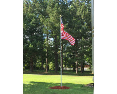 20' In-Ground Telescoping Residential Flagpole