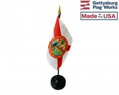 Florida State Stick Flag - 4x6""