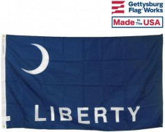 Fort Moultrie Liberty Flag