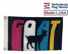 G.O.A.T. Flag - Greatest of All time - Choose Options