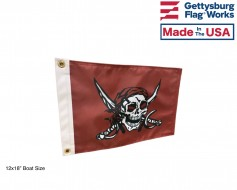 Caribbean Pirate Flag - Choose Options