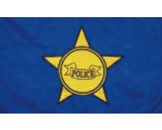 Police Department Flag - 3x5'
