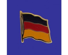 Germany Lapel Pin (Single Waving Flag)