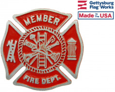 Fireman Grave Marker - Choose Options