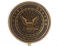 Navy Grave Marker
