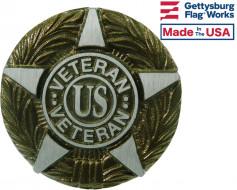 Universal Service (US Veteran) Aluminum Grave Marker