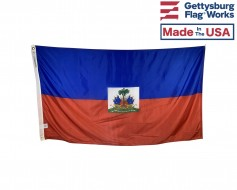 Haiti Flag (with Seal)