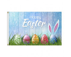 Happy Easter / Eggs Flag - 3x5'