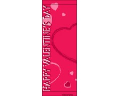 Happy Valentines Day Avenue Banner