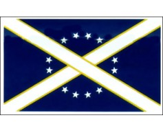 Hillards Alabama Legion Flag (1862) - 3x5'