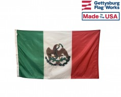 Historical Original Mexico Flag (1824-1836) - 3x5'