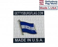 Honduras Lapel Pin (Single Waving Flag)