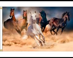 Horses Flag - 3x5'