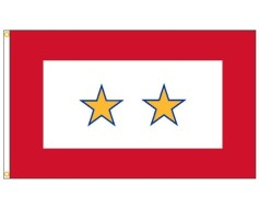 Service Star Flag (2 Gold Stars) - 3x5'